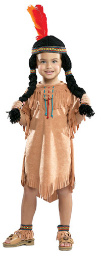 Small Indian Girl Costume