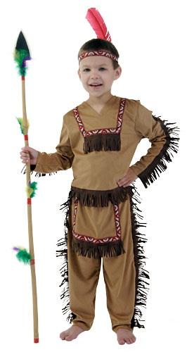 Kids Indian Boy Costume