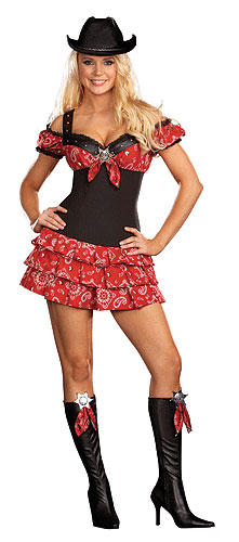 ... so I'll dress up. halloween year friends ill dress adult cowgirl costume