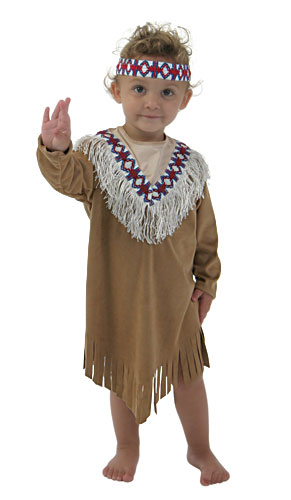 Tiger Lily Girls Indian Costume