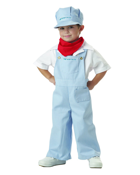 Train Engineer Costume for Toddler