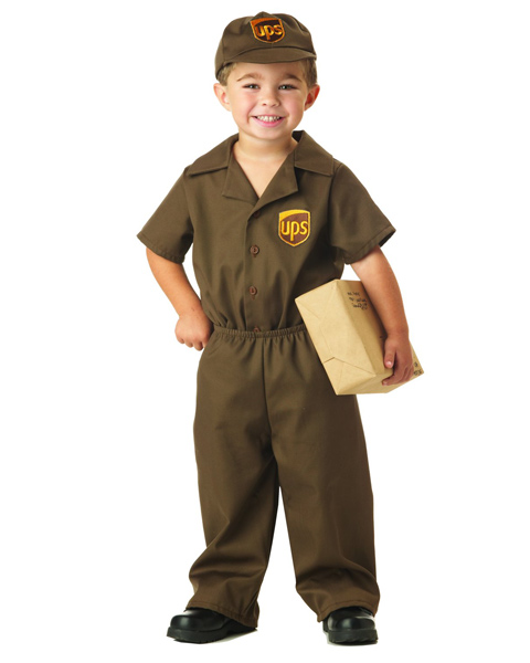 UPS Guy Costume for Toddler