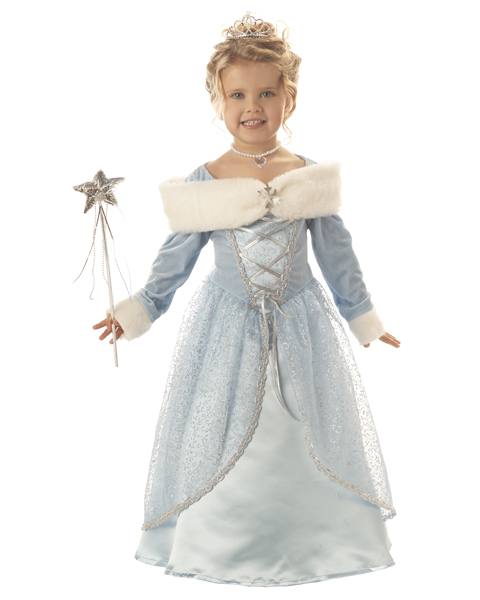 Snowflake Princess Toddler Costume