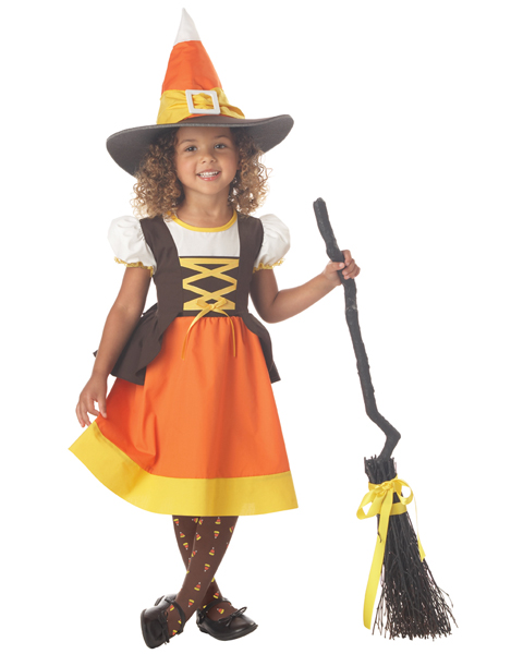 Girl Toddler Sweet Treat Witch Costume