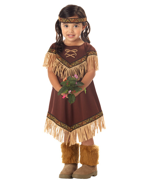 Lil Toddler Indian Princess Costume