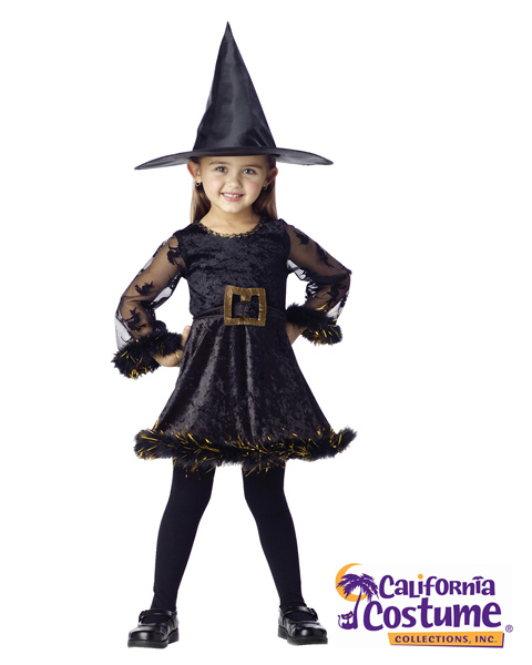 Adorable Witch Toddler Costume