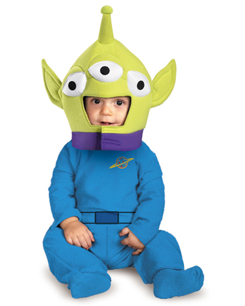 Infant Toy Story Disney Alien Costume