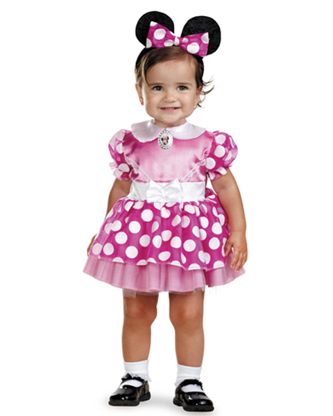 Infant Pink Minnie Mouse Disney Costume