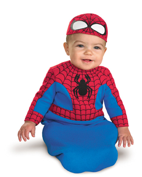Spiderman Newborn Costume