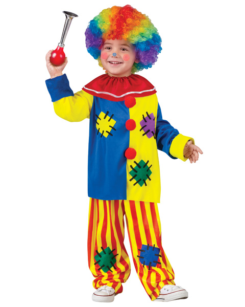 Toddlers Big Top Clown Costume