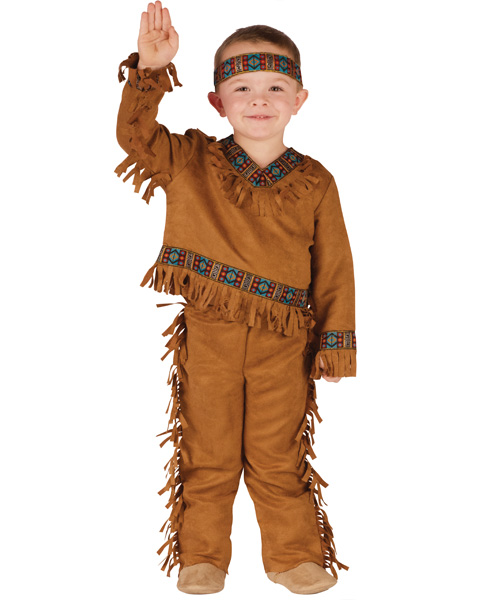 Toddlers Native American Boy Costume