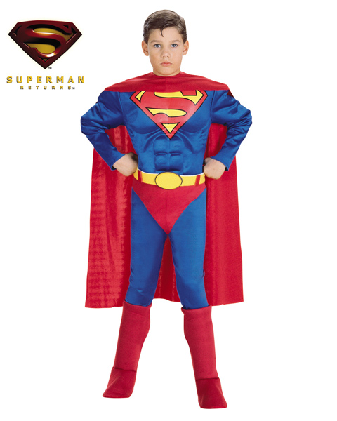 Muscle Chest Superman Costume for Toddler