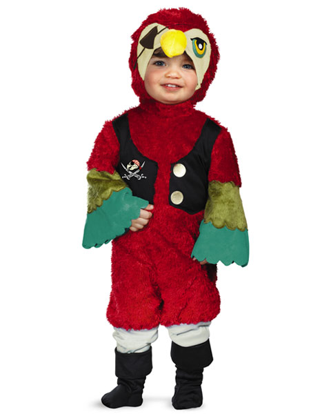 Pirate Parrot Infant Costume