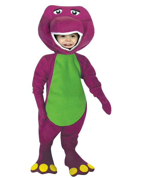 Infant/Toddler Barney Costume