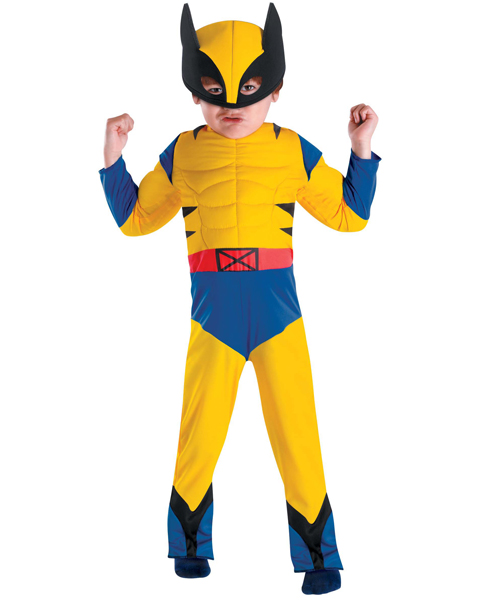 Toddler Wolverine Muscle Chest Costume