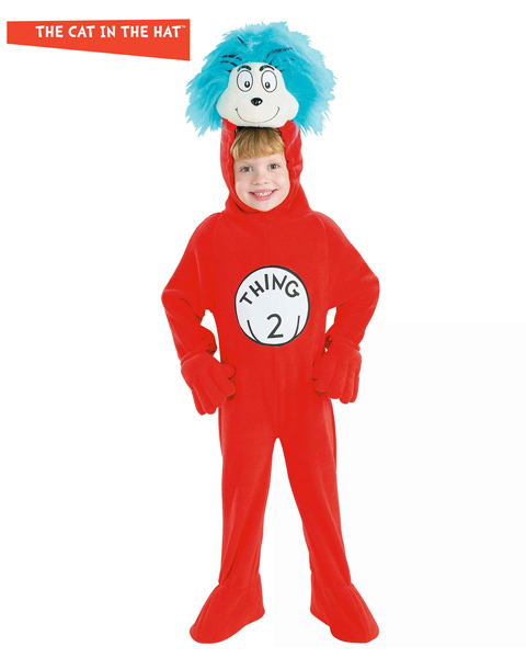 Thing#2 Costume for Toddler