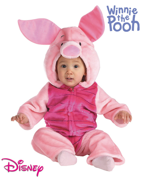 Piglet Plush Costume for Infant