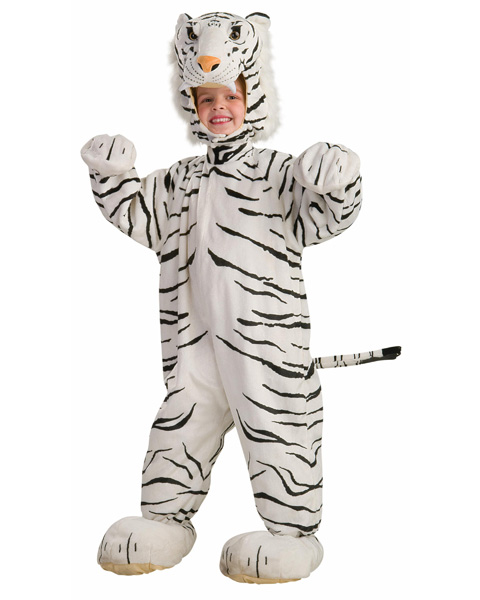 Toddler White Tiger Cub Costume