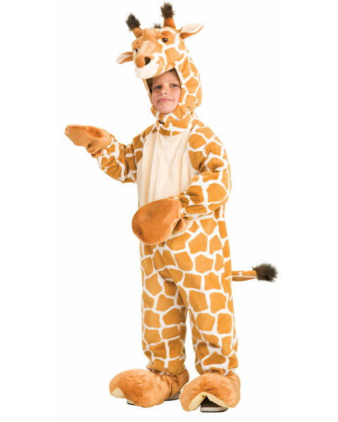 Toddler Plush Giraffe Costume