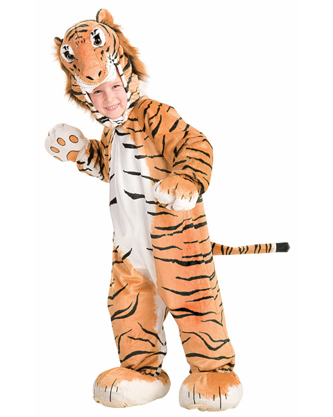 Toddler Gold Tiger Cub Costume