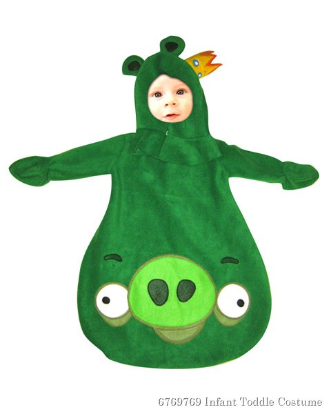 Angry Birds Infant King Pig Bunting Costume