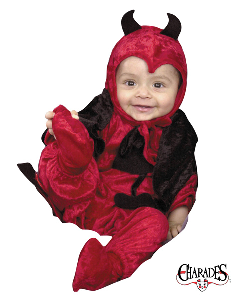Darling Devil Costume for Newborn