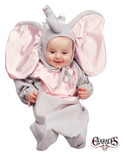Little Elephant Bunting Newborn Costume for Infant
