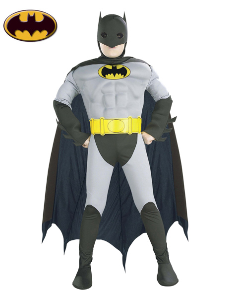 Muscle Chest Batman Costume for Toddler