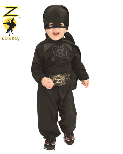 Flannel Zorro Costume for Toddler