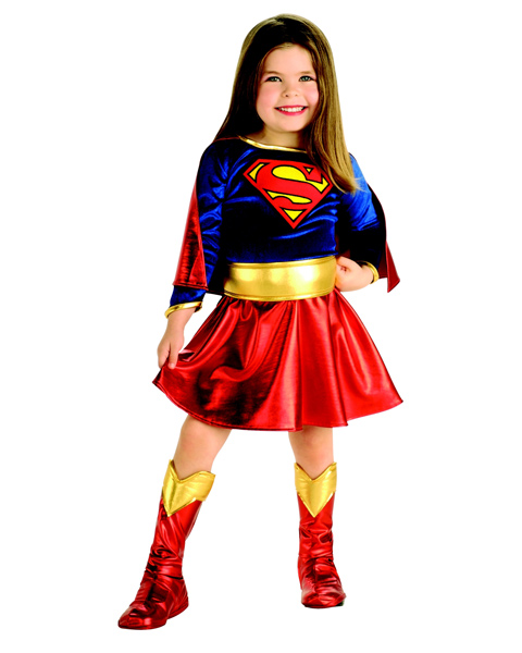 Toddler Supergirl Costume