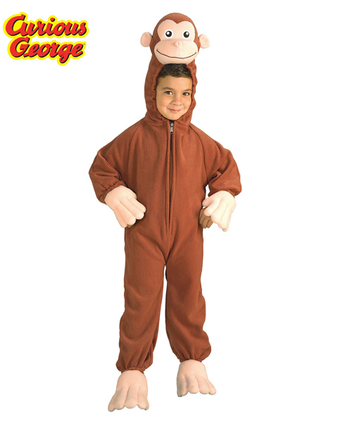 Curious George Costume for Toddler