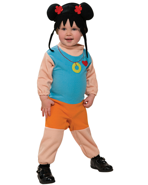 Infant Ni Hao Kai-Lan EZ On Romper Costume