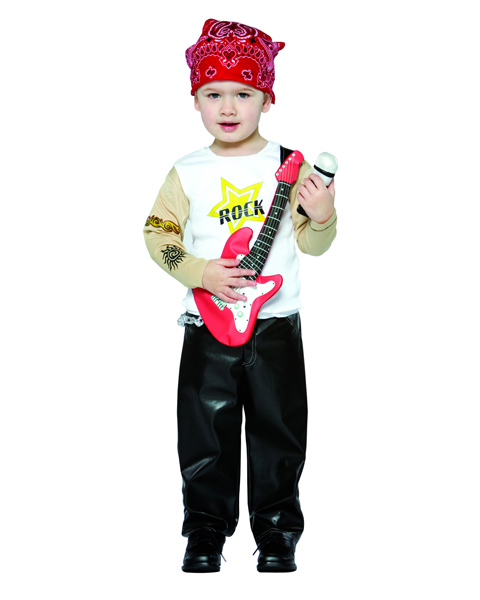 Future Rock Star Costume for Boy Toddler