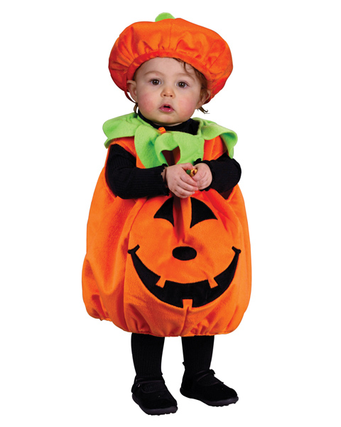 Pumpkin Costume for Newborn Infant