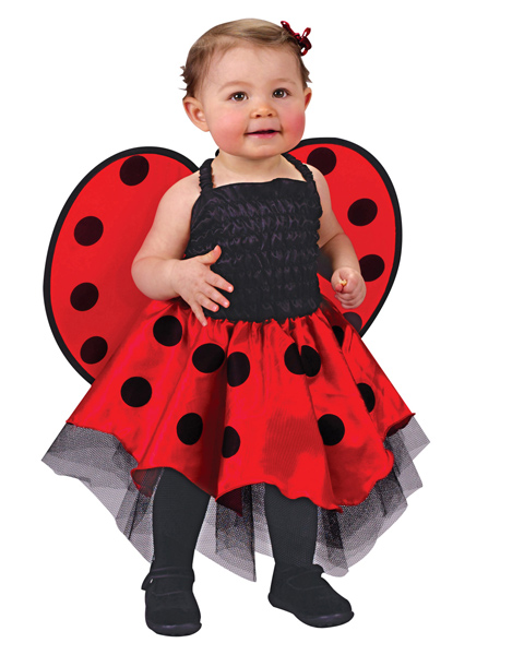 Newborn Infant Lady Bug Costume