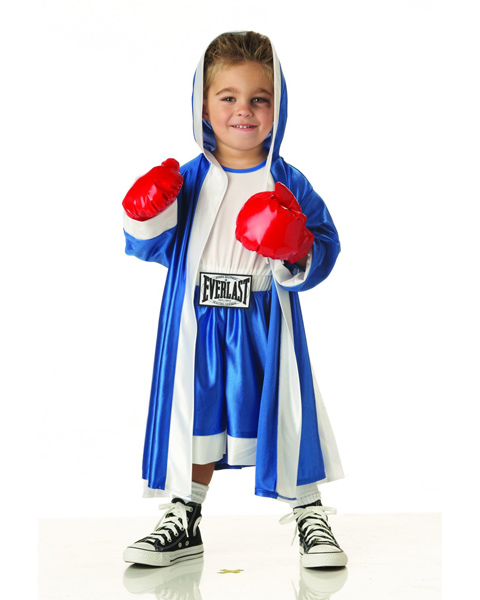Toddlers Everlast Boxer Costume - Click Image to Close