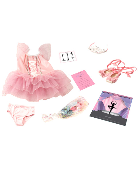 Make A Wish Toddler Ballerina Costume