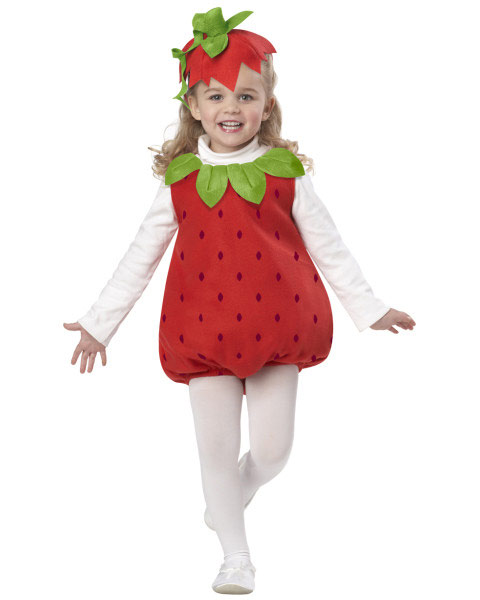 Infant Toddler Strawberry Girl Costume