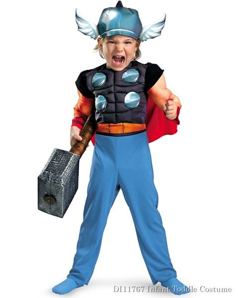 Muscle Marvel Thor Toddler Costume