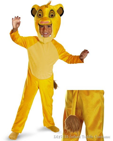 Classic Disneys The Lion King Simba Toddler Costume
