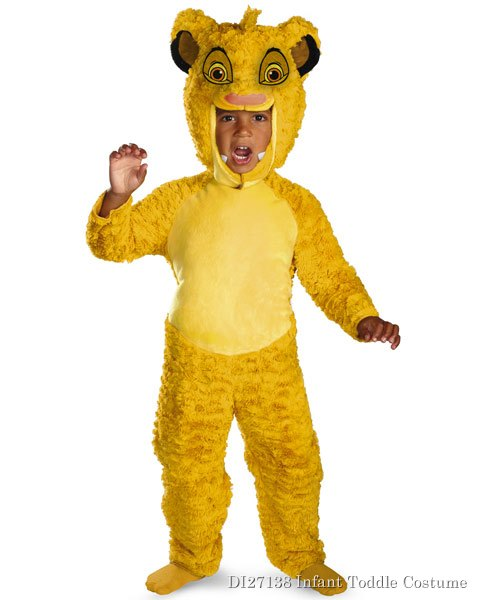 Deluxe Disneys The Lion King Simba Toddler Costume
