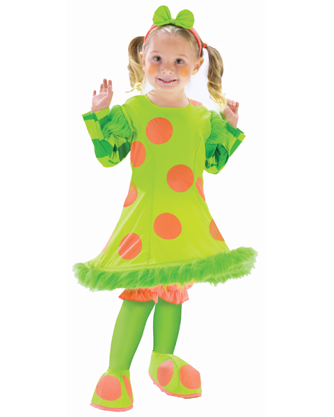 Lolli The Clown Costume for Toddler