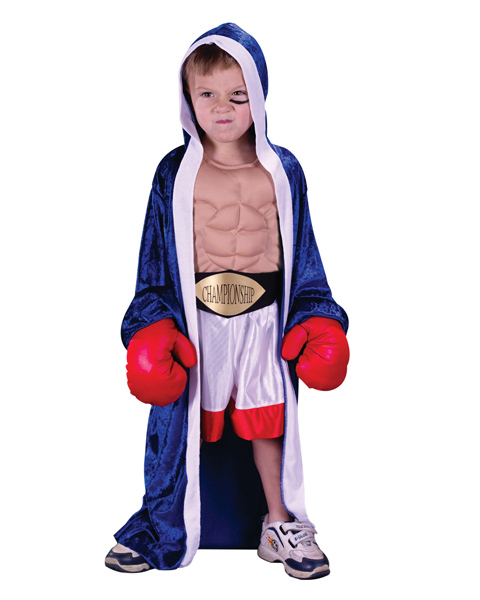Toddler Sized Lil Champ Costume
