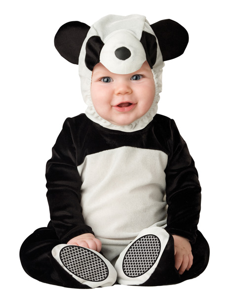 Toddlers Playful Panda Costume