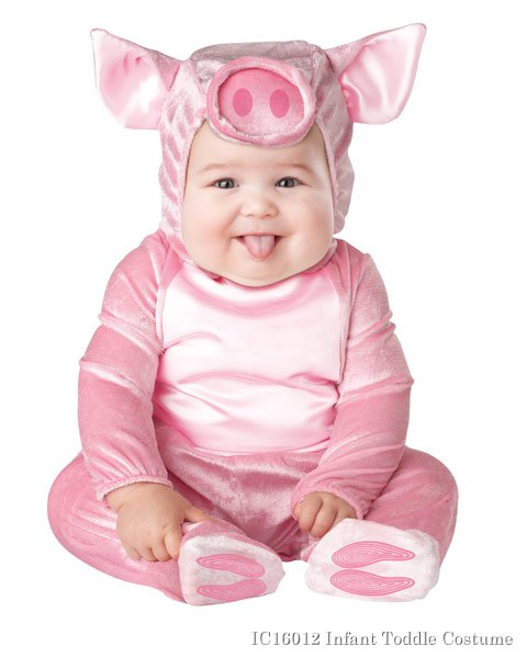 This Lil Piggy Costume Infant Toddler
