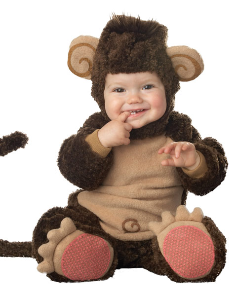 Infant Lil Monkey Costume