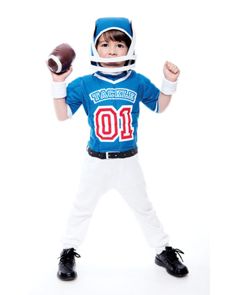 Lil Big Football Player Toddler Costume