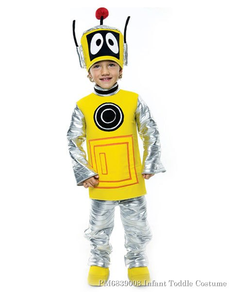 Yo Gabba Gabba Plex Deluxe Infant Toddler Costume