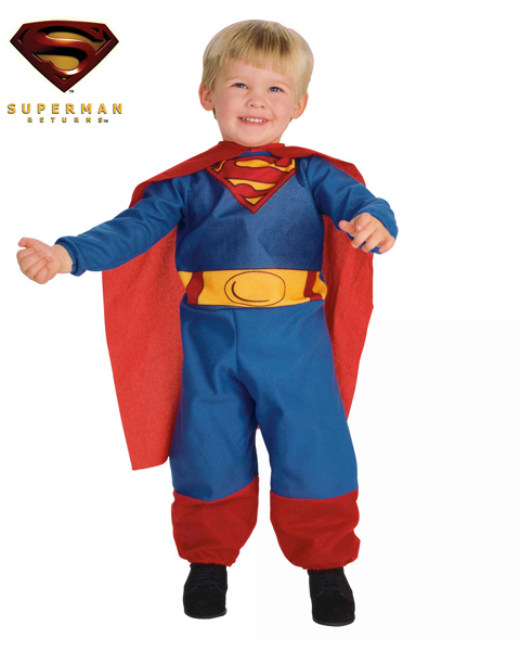 Infant/Toddler Superman Costume