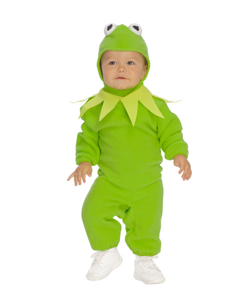 Kermit the Frog Costume for Infant Toddler